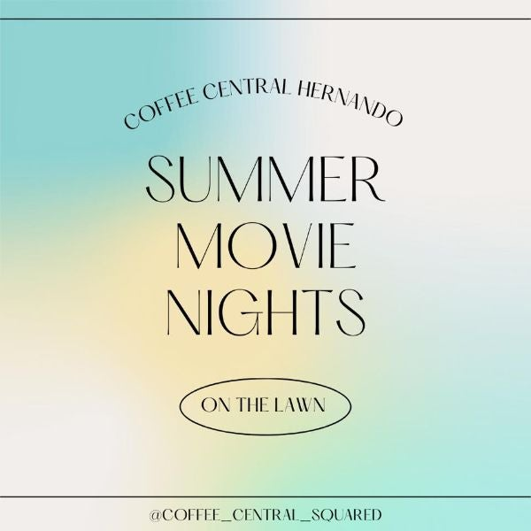 Summer Movie Nights on the Lawn