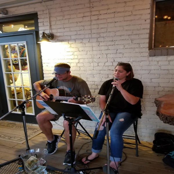 The First Friday Back Porch Party