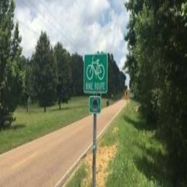 Center Hill Road Bicycle Route