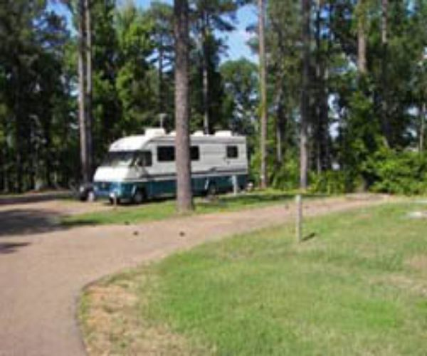 Dub Patton Campground at Arkabutla Lake