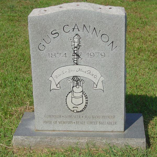 Gus Cannon's Gravesite