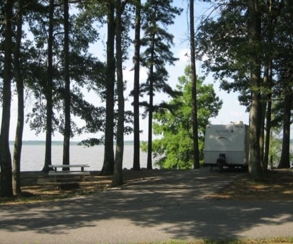 Hernando Point Campground at Arkabutla Lake