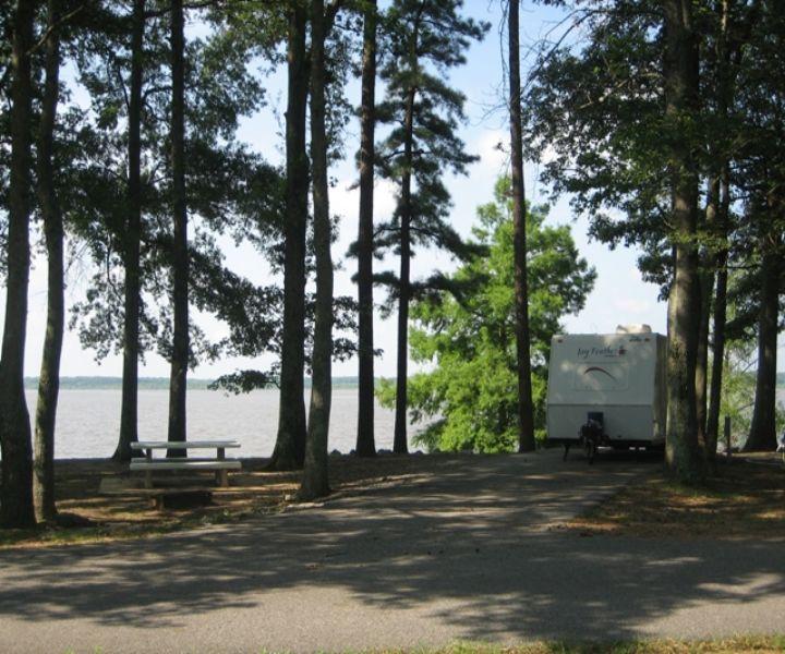 Hernando Point Campground at Arkabutla Lake