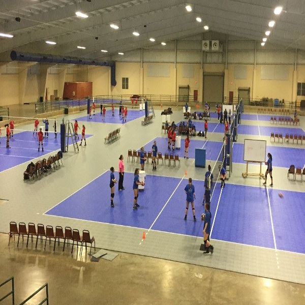 The Indoor Volleyball Arena