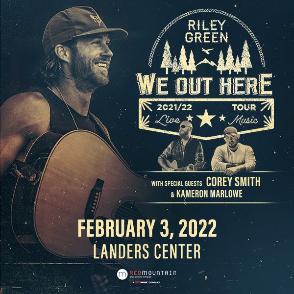 Riley Green: We Out Here Tour 2022