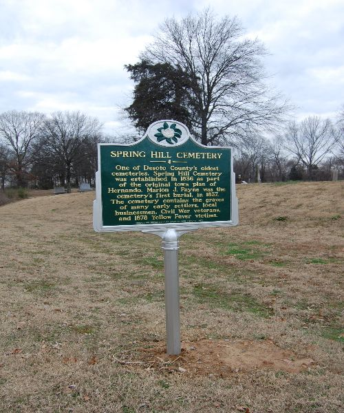 Springhill Historic Memorial Garden Cemetery