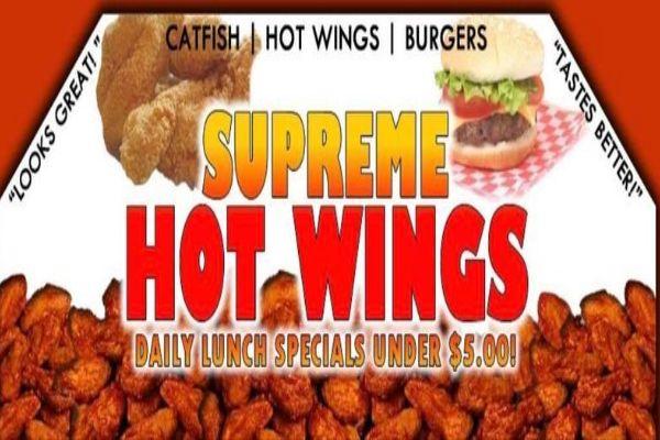 Supreme Hot Wings